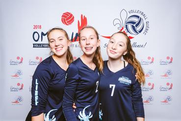Omnium Volleyball Québec Vert & Or 2018