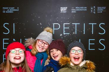 MNBAQ / Vernissage de l'exposition centrale de Manif d'art 9 – La biennale de Québec.