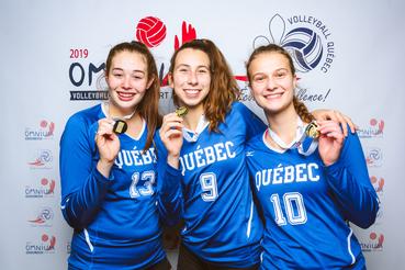 Omnium Volleyball Québec Vert & Or 2019