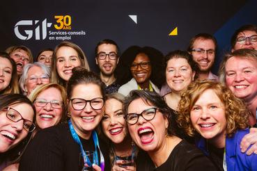 30e anniversaire de GIT Services-conseils en emploi